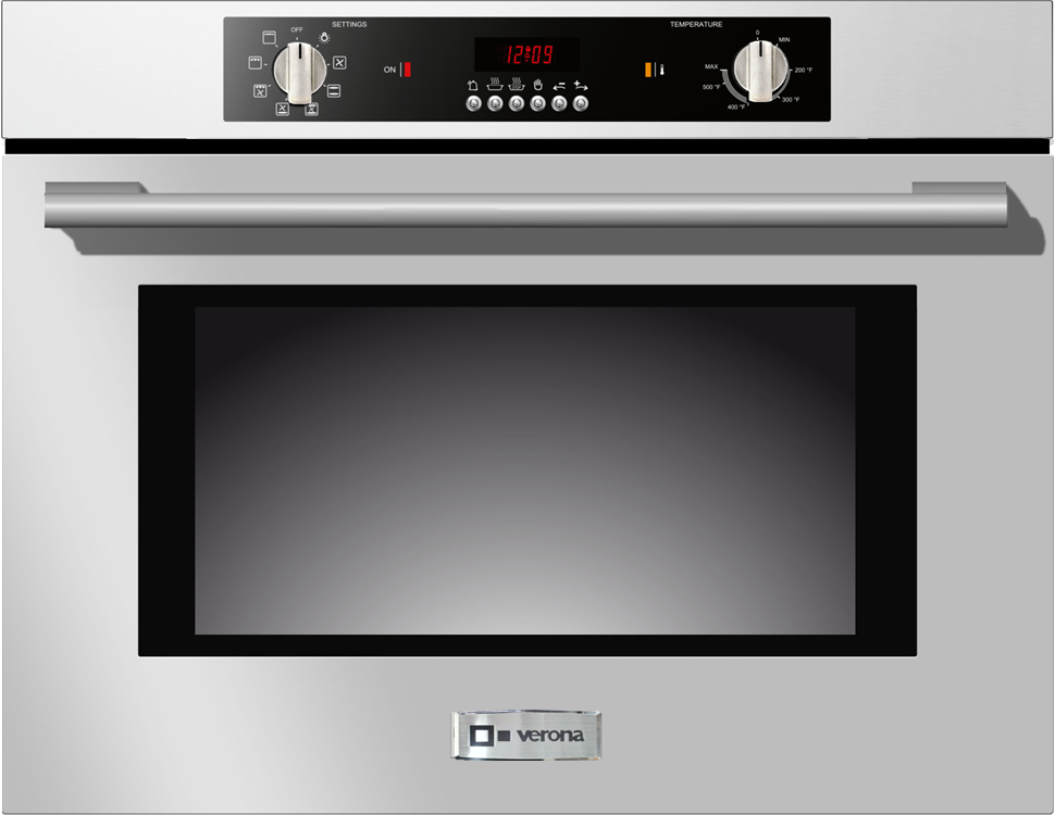 Verona 30 Single Electric Wall Oven Stainless Steel Vebiem301ss