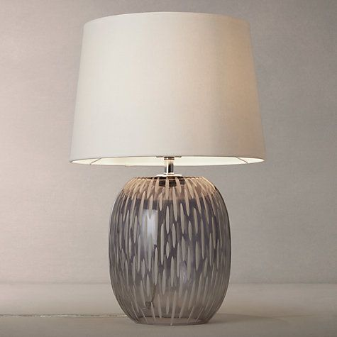 Agatha ombre carved glass table lamp