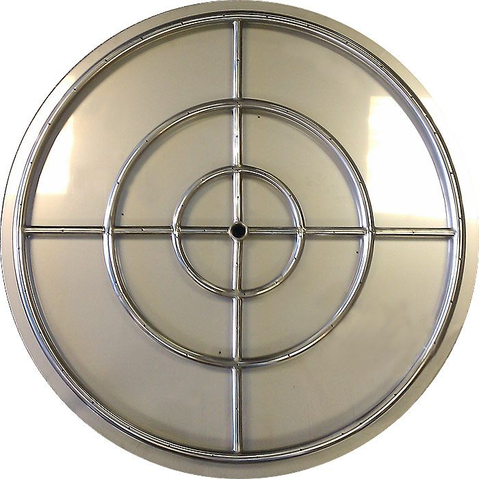 Stainless Steel Flat Fire Pit Ring Pan Burners Fire Pit Ring Fire Pit Modern Fire Pit