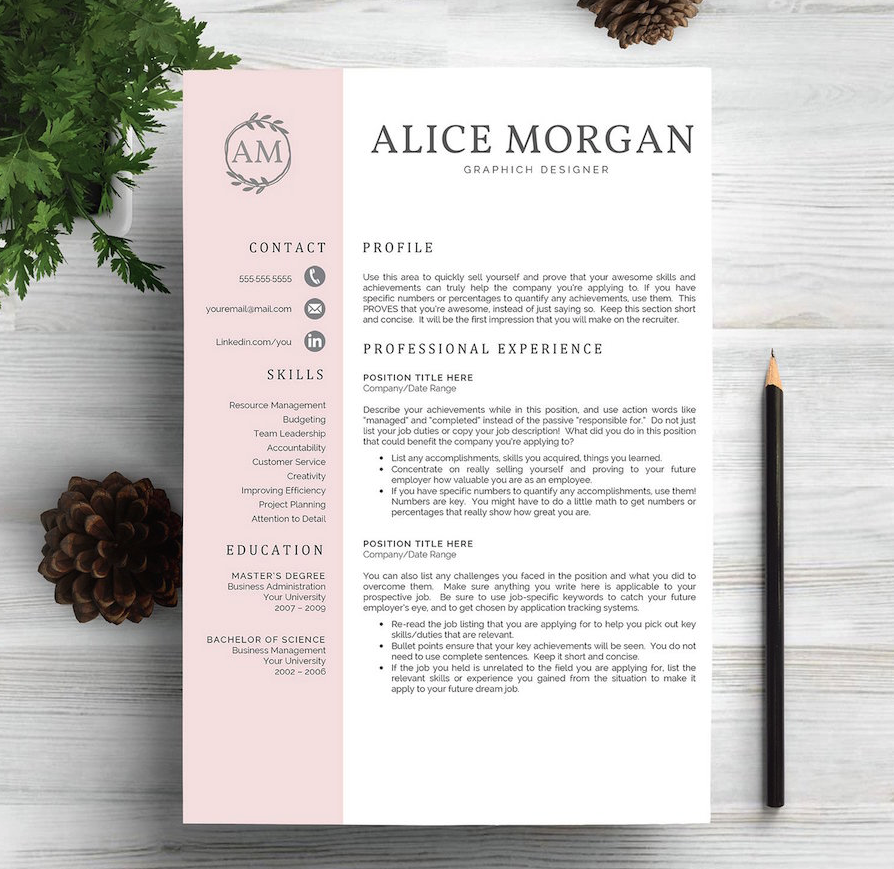 40 best free resume templates 2017 psd ai doc - Cool Free Resume Templates