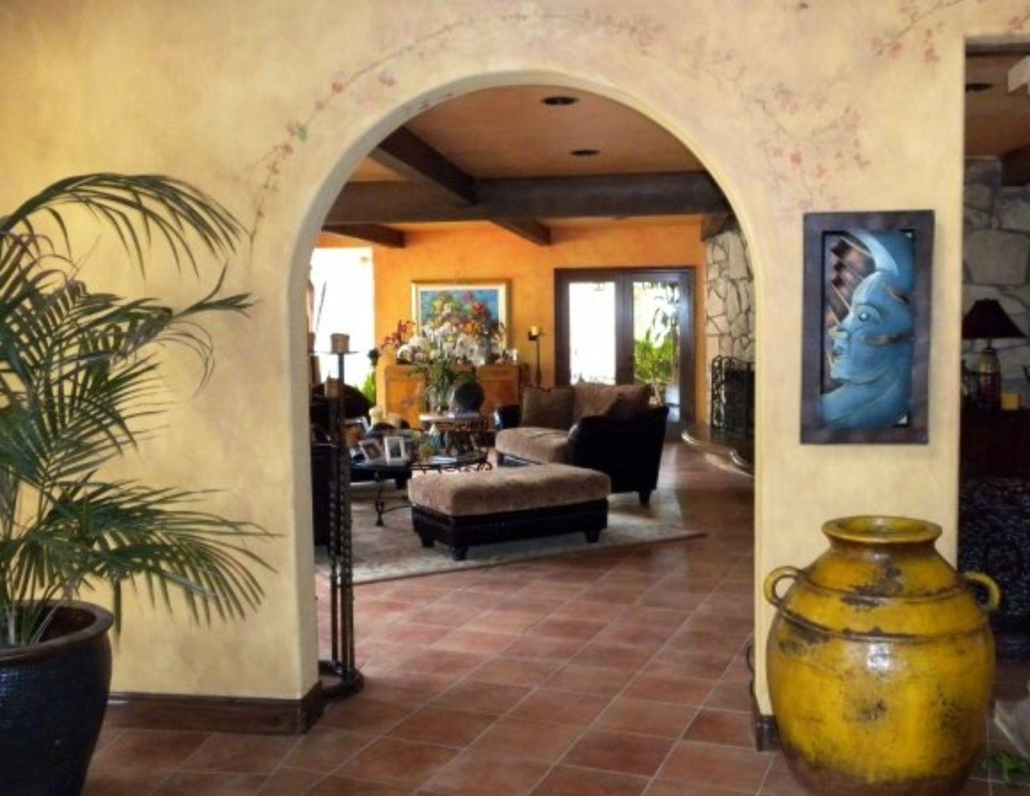 Living Room Hacienda Style Pinterest