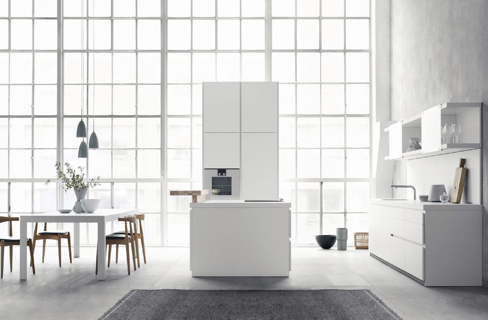 Carta bianca: le cucine scelgono il non colore per ...