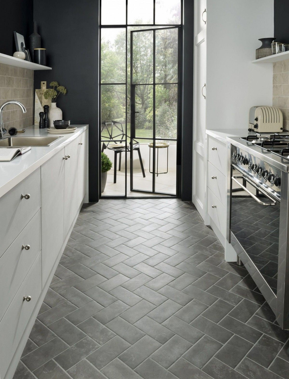 Kitchen Floor Tile Retro Commercial Marble Kitchen Floor Tile Kitchen Flooring Kitchen Floor Plans Kitchen Remodeling Projects