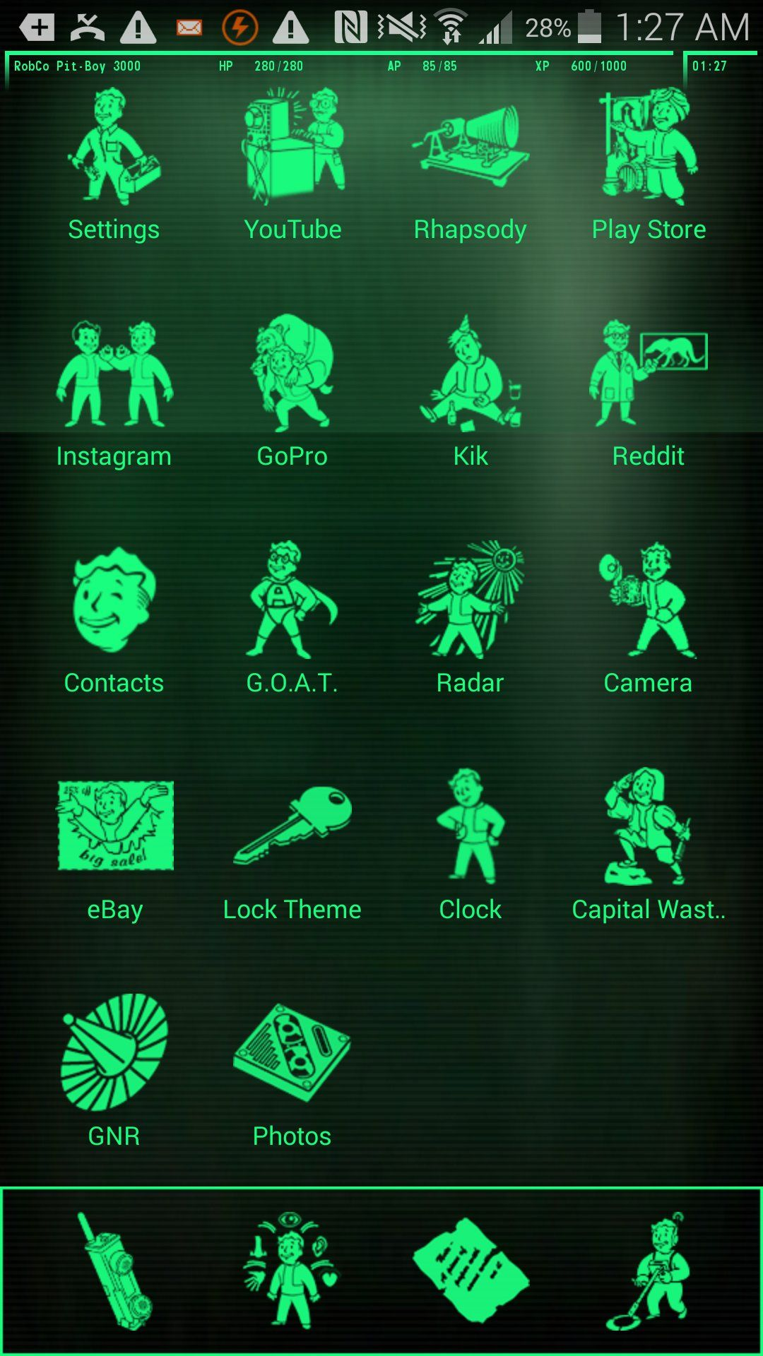 Google themes live - Pip Boy 3000 Live Wallpaper Android Apps On Google Play
