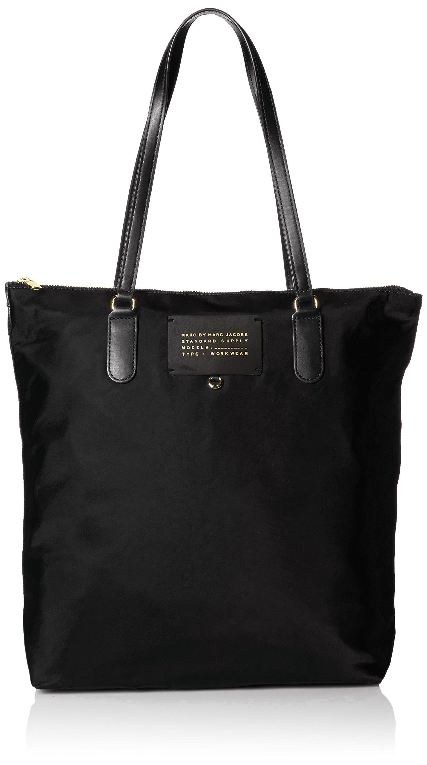 c7dfada14 Marc by Marc Jacobs Preppy Legend Top Zip Tote Bag, Black, One Size ...