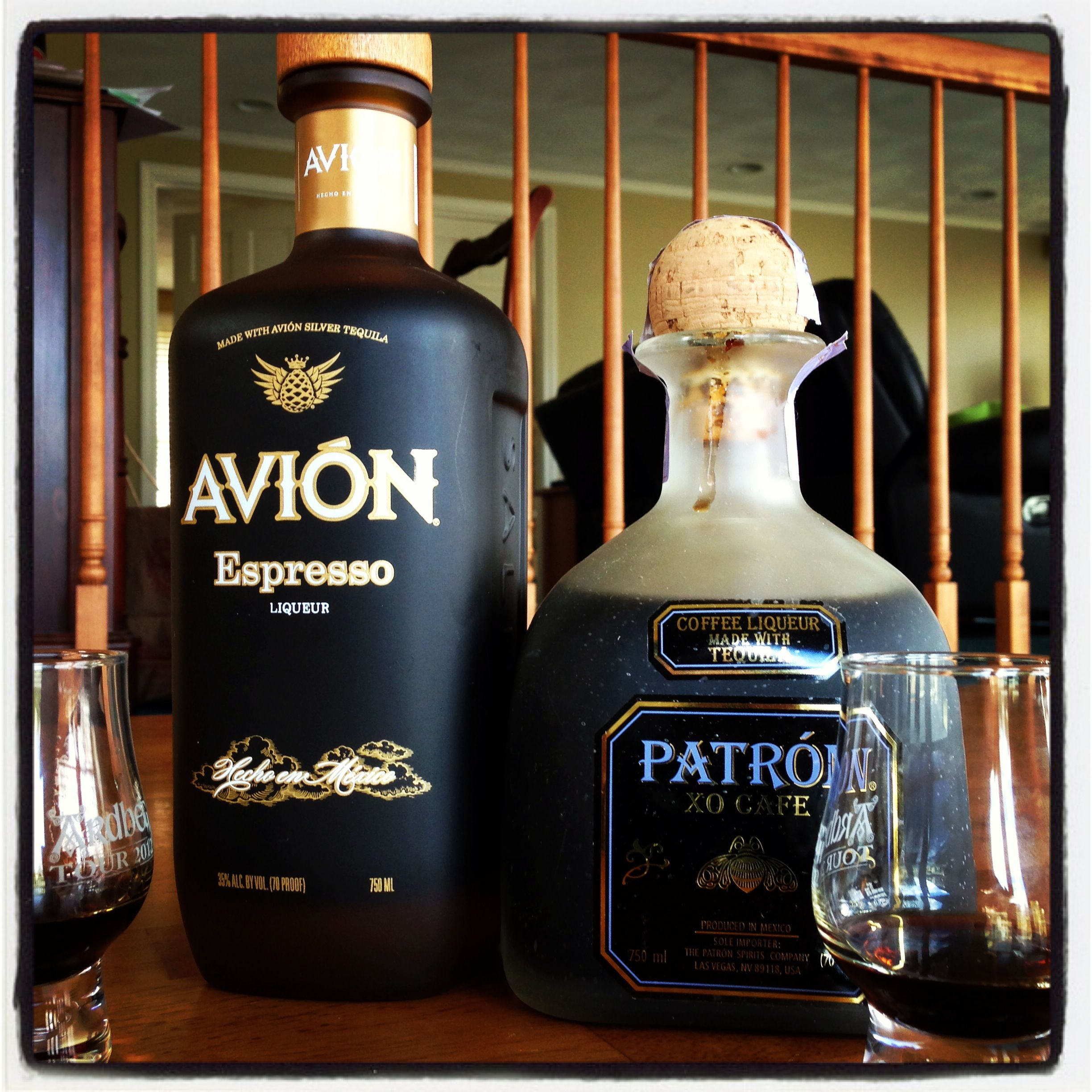 Battle of the tequila titans tequila avi n espresso vs for Avion tequila mixed drinks
