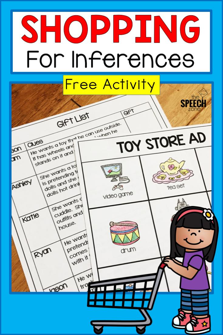 Kindergarten Inferencing Worksheets