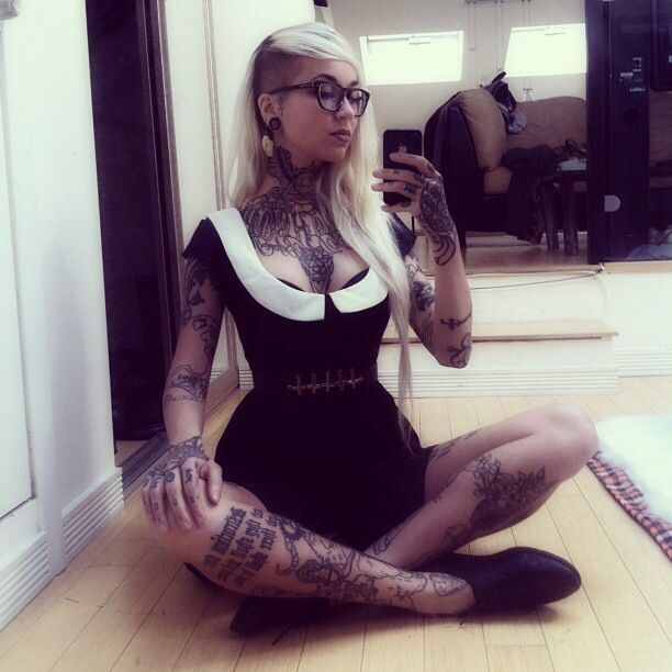 Black Baby Doll Tattoo: Tattoo For Baby Girl, Girl Tattoos