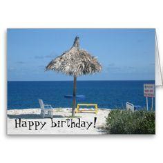 Beach Themed Birthday Greetings Google Search Beach Cards