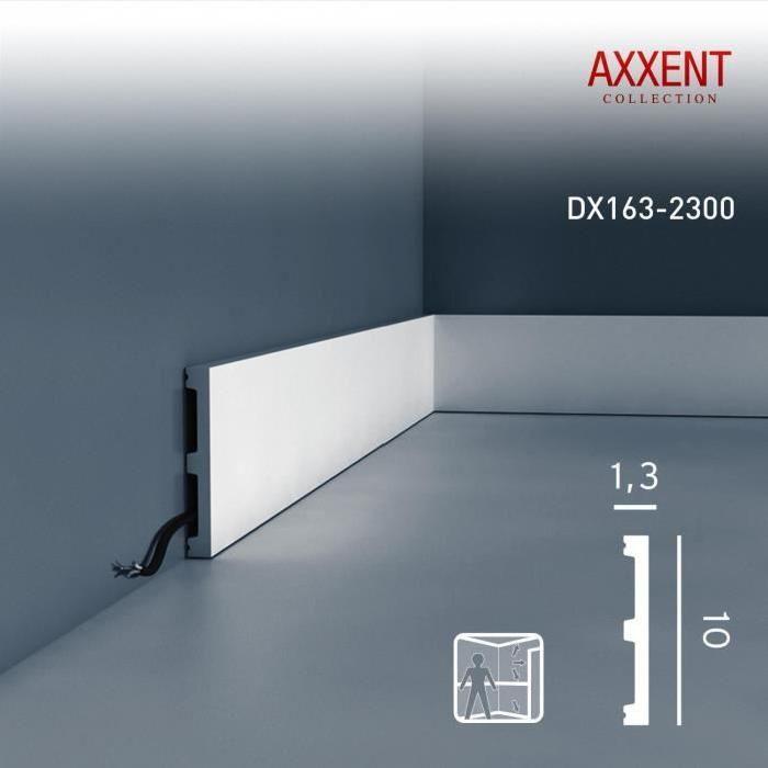 Encadrement de porte Plinthe Moulure Orac Decor DX163-2300 AXXENT - Decoration Encadrement Porte Interieur