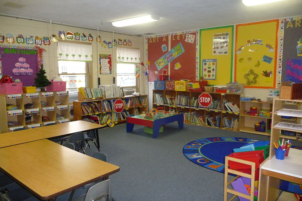 Classroom Design Preschool : Preschool learning centers grace presbyterian church