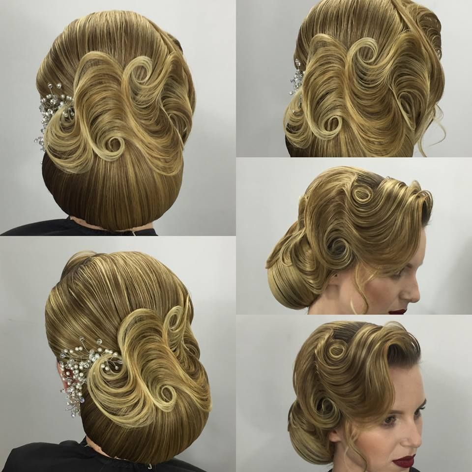 Pin by magalie leger on bridal hair pinterest hair style updo