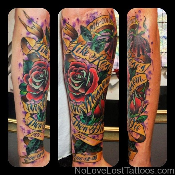 Mixed Colour No Love Lost Tattoos Chris Smith Color Mixing