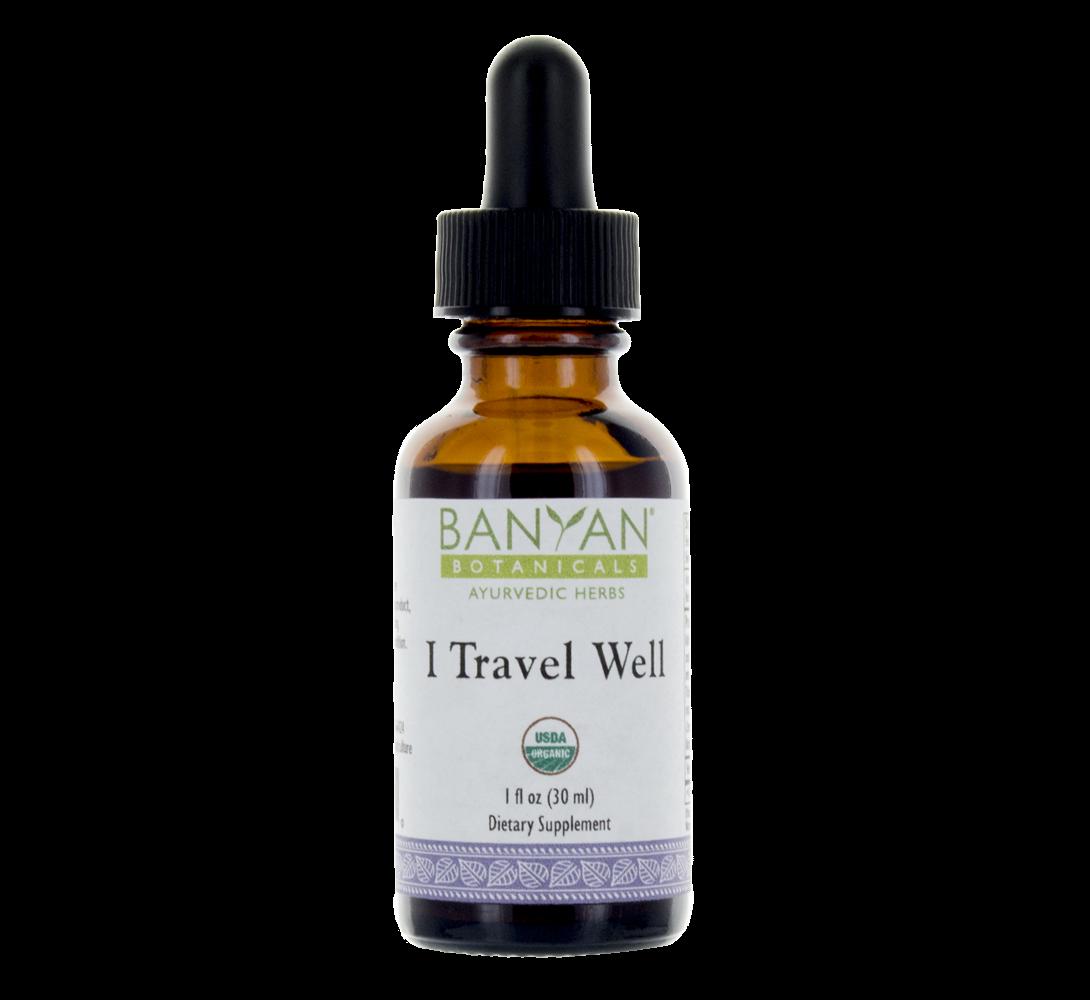 I Travel Well Liquid Extract Travel Fun Ayurvedic Herbs Liquid Extract