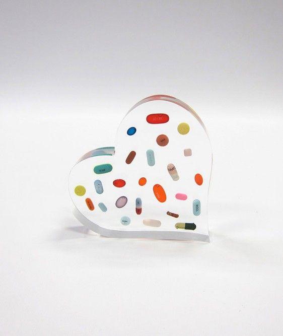 Ray Geary: Pill Shapes-Heart