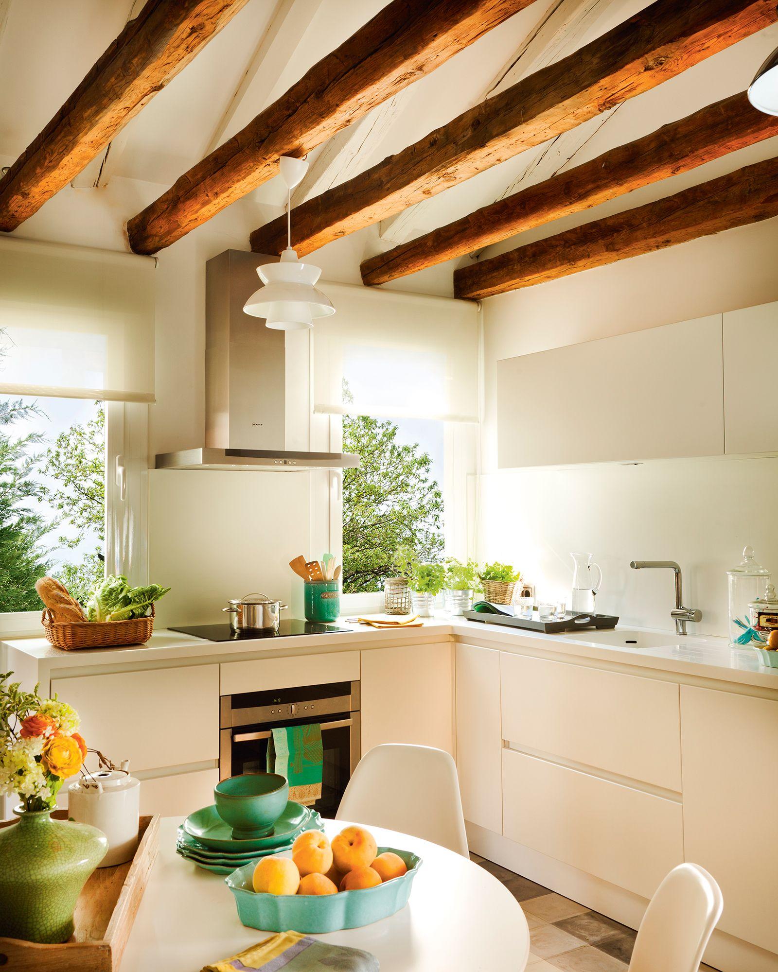 En Blanco Decoracion De Cocina Decoracion De Cocina Moderna Muebles De Cocina