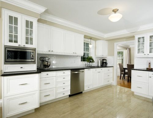 Kitchen Molding Over Soffet Design, Pictures, Remodel ...