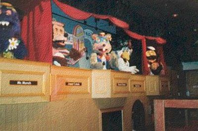 80 S Chuck E Cheese Stage Chuck E Cheese 1980s Childhood