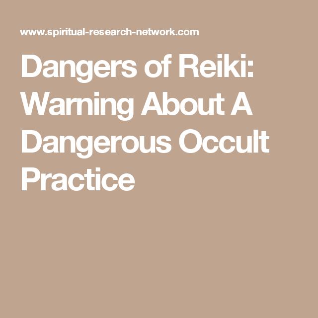 Reiki occult