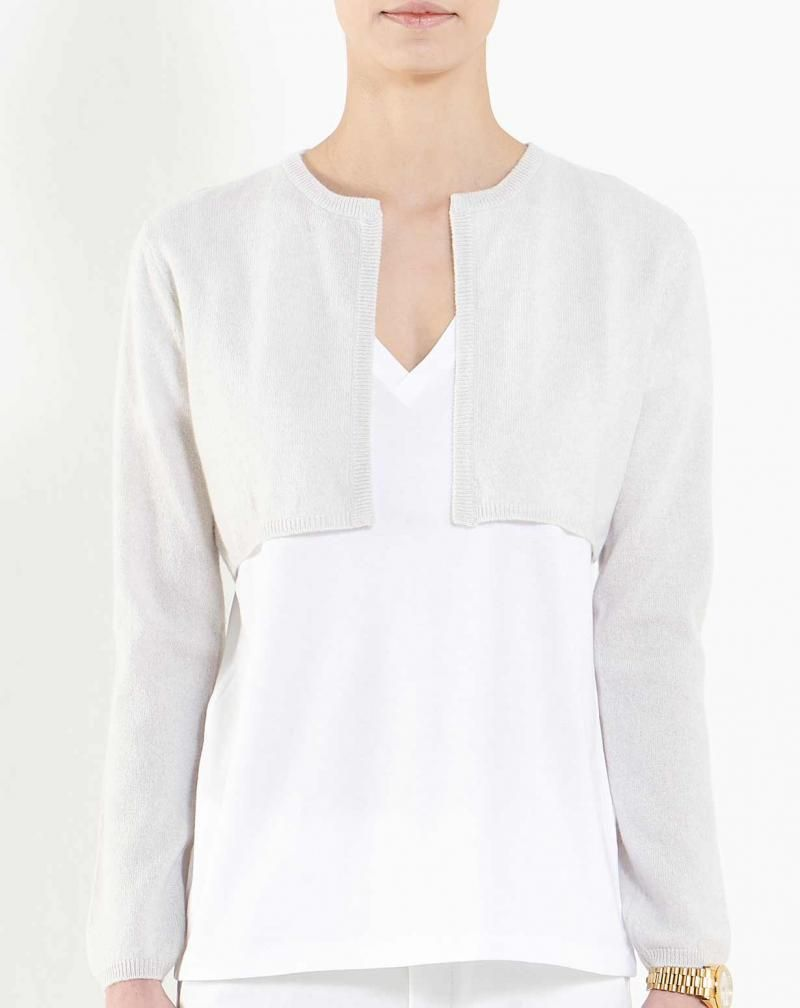 Women's Pure Cashmere Shrug Sweater #shrugsweater