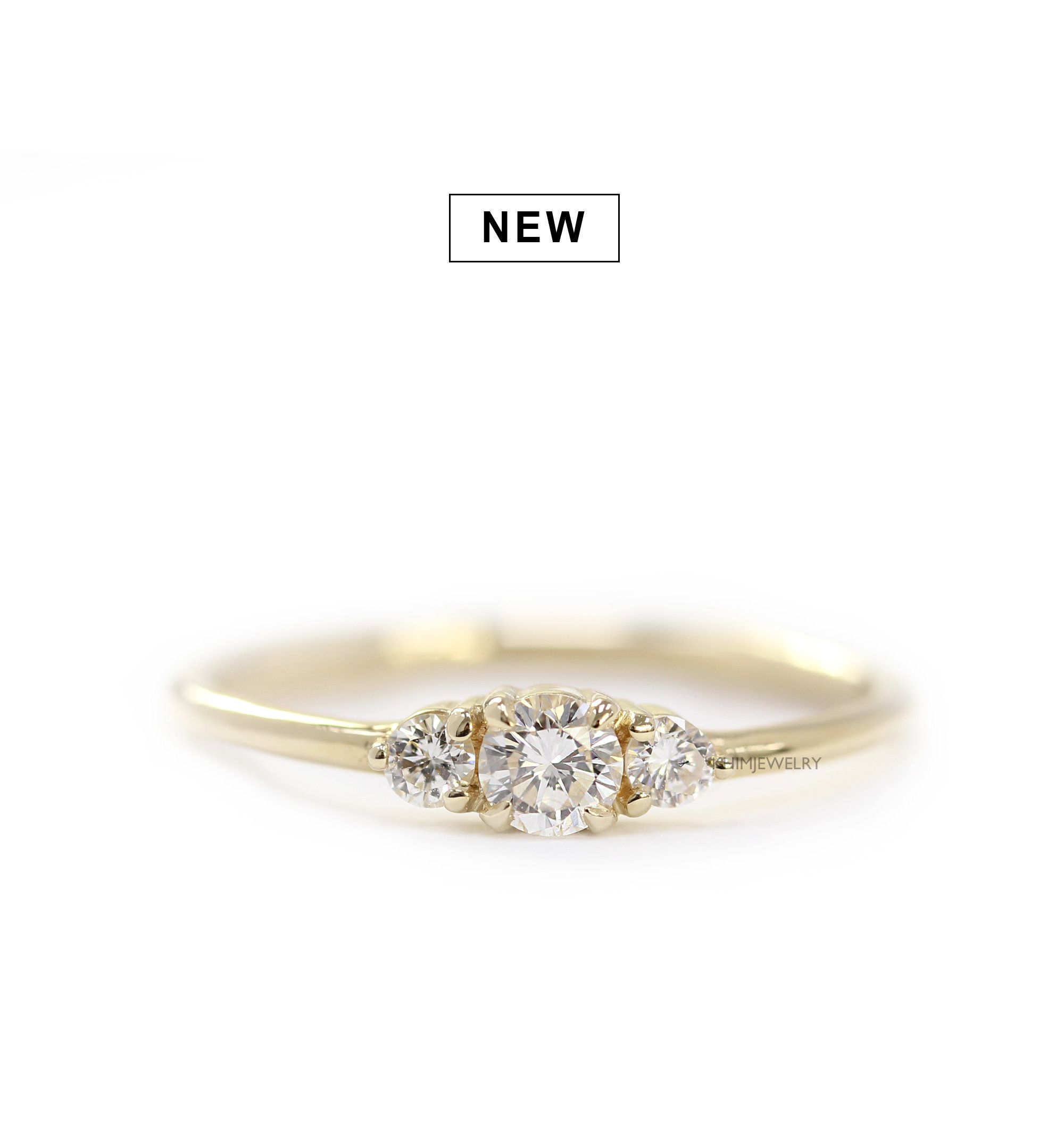 simple delicate ring diamond single wedding ori rings details engagement