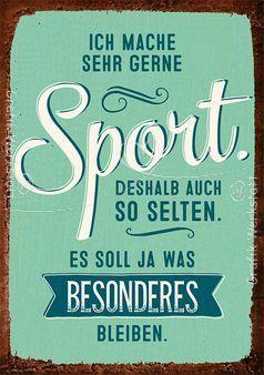 Sport Postkarte Grafik Werkstatt Bielefeld Lustige Spruche