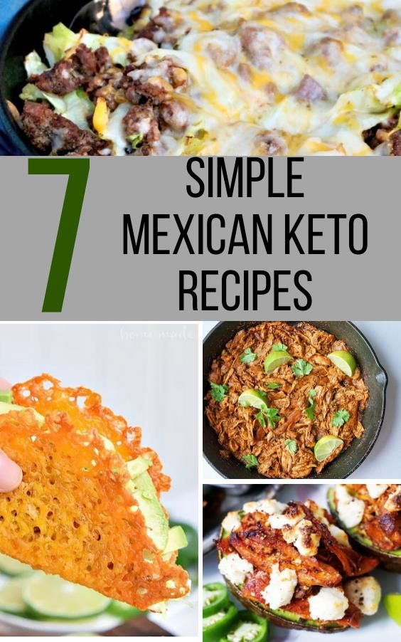 7 Keto Mexican Recipes You Need To Make For The Whole Family To Enjoy
