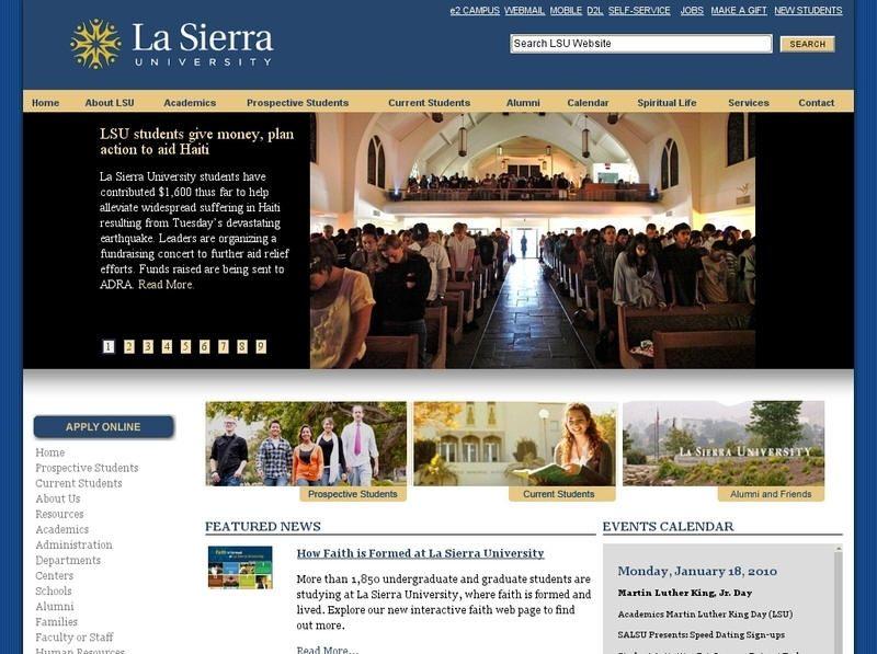 La Sierra University University, Lsu student, University