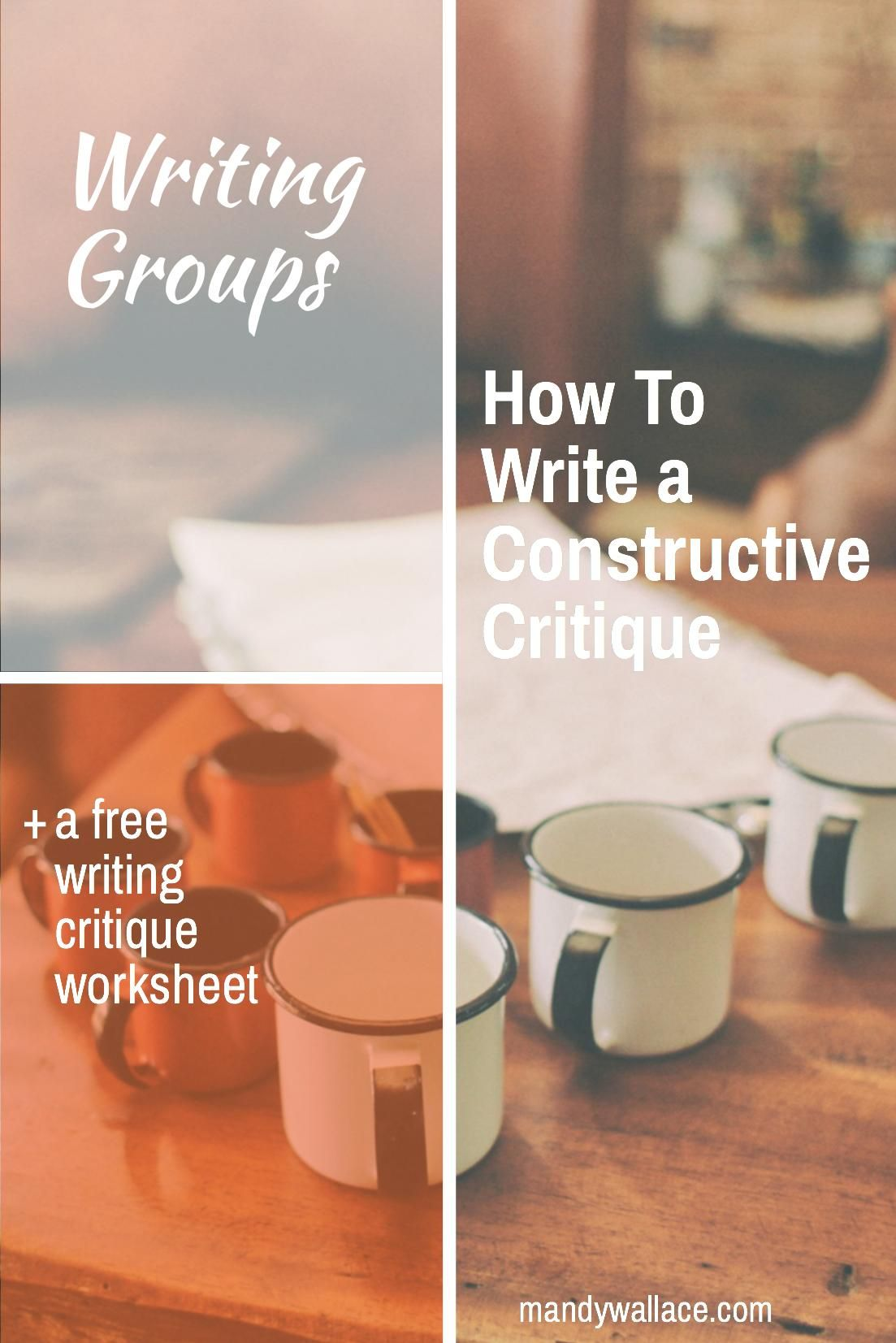 Writing Groups How To Write A Constructive Critique
