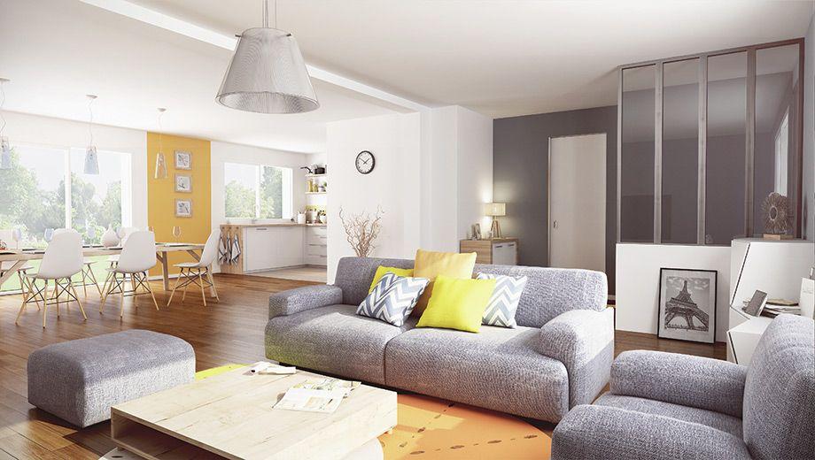 Les equipements le salon maison familiale d co cuisine salon home decor home et sweet - Decoration de maison salon ...