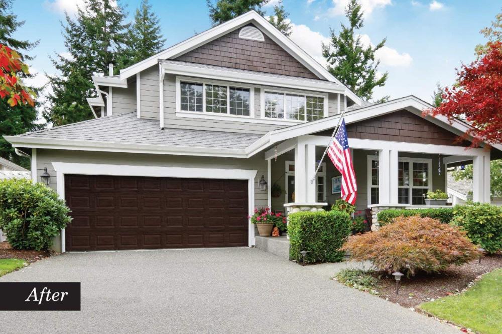 Giani Wood Look Garage Door Paint Kit 2 Car English Oak Amazon Com Home Improvement Loans Garage Door Design Garage Door Styles