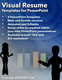 Visual Resume Powerpoint Templates  Powerpoint Concepts