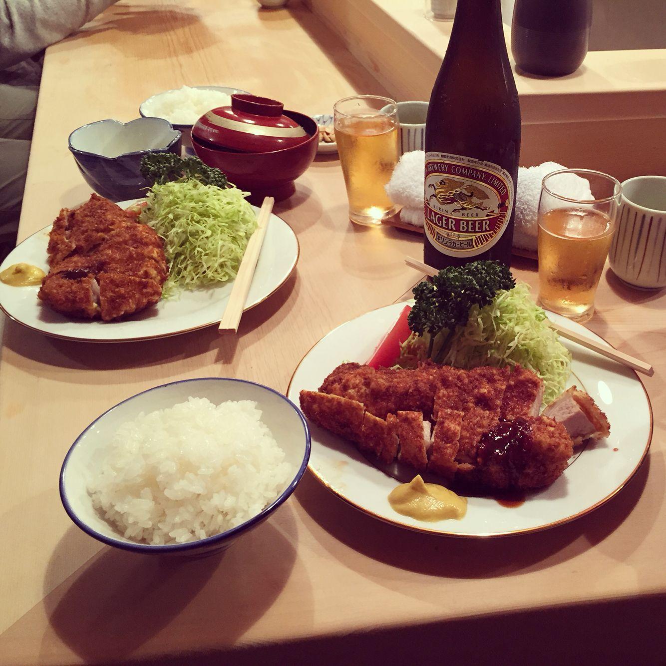 Tonkatsu Tonki tokyo meguro eats bestfood japan