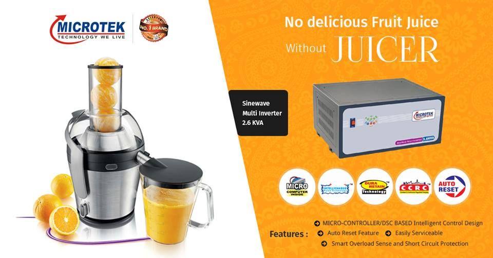 Microtek Sine Wave Inverters Best Inverter For Home Office Delicious Fruit Juicer Fruit Juice
