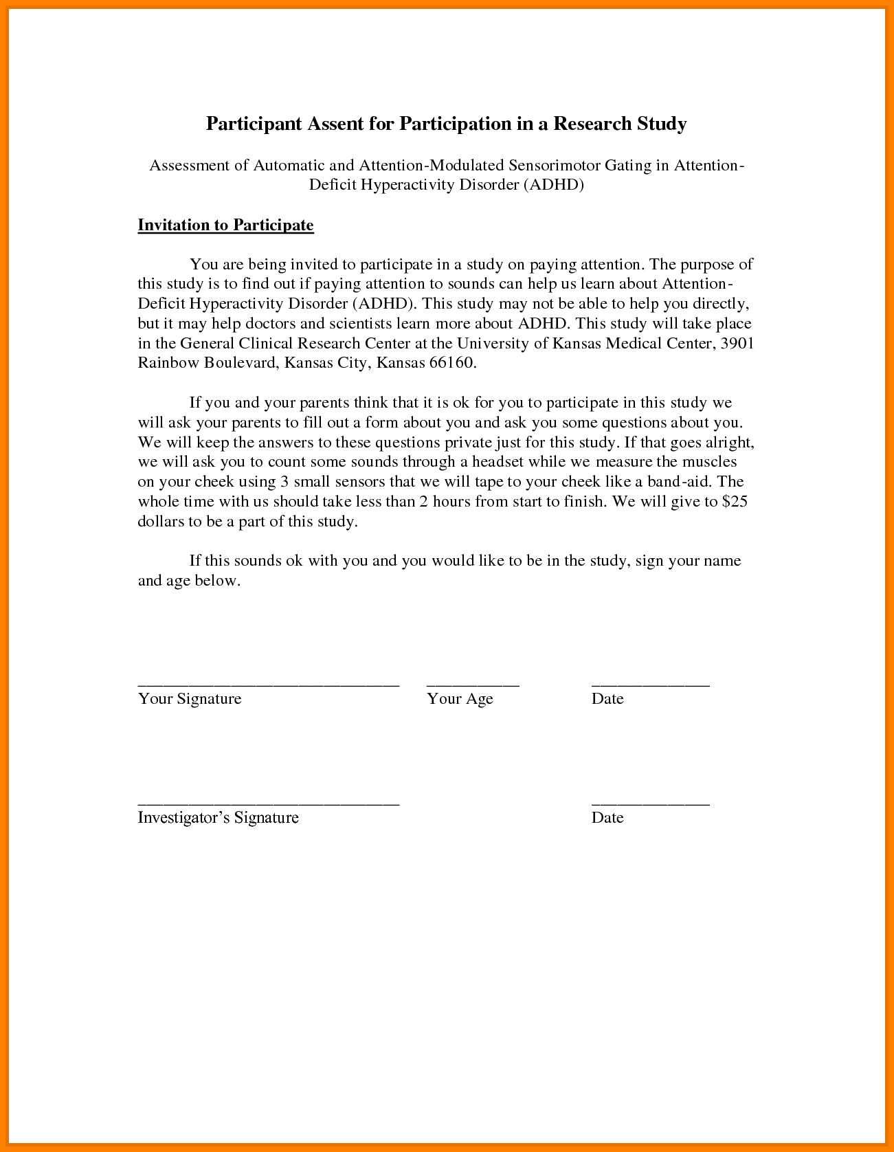 permission slip template word service agreement cover forms sample