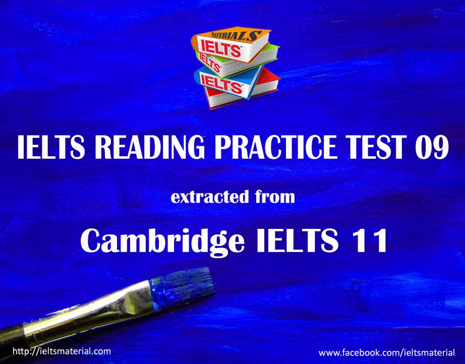 ielts reading practice test 09 cambridge ielts 11 test 1 ielts