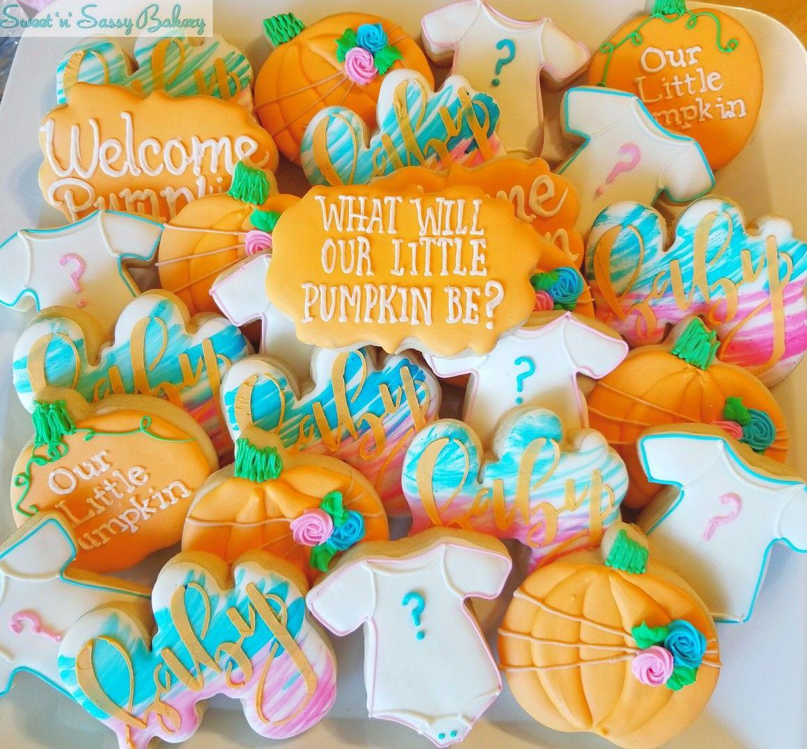 Pumpkin Gender Reveal Halloween Gender Reveal Pumpkin Gender Reveal Gender Reveal