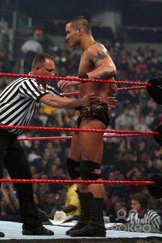 Randy Orton at Cyber Sunday (October 2007)