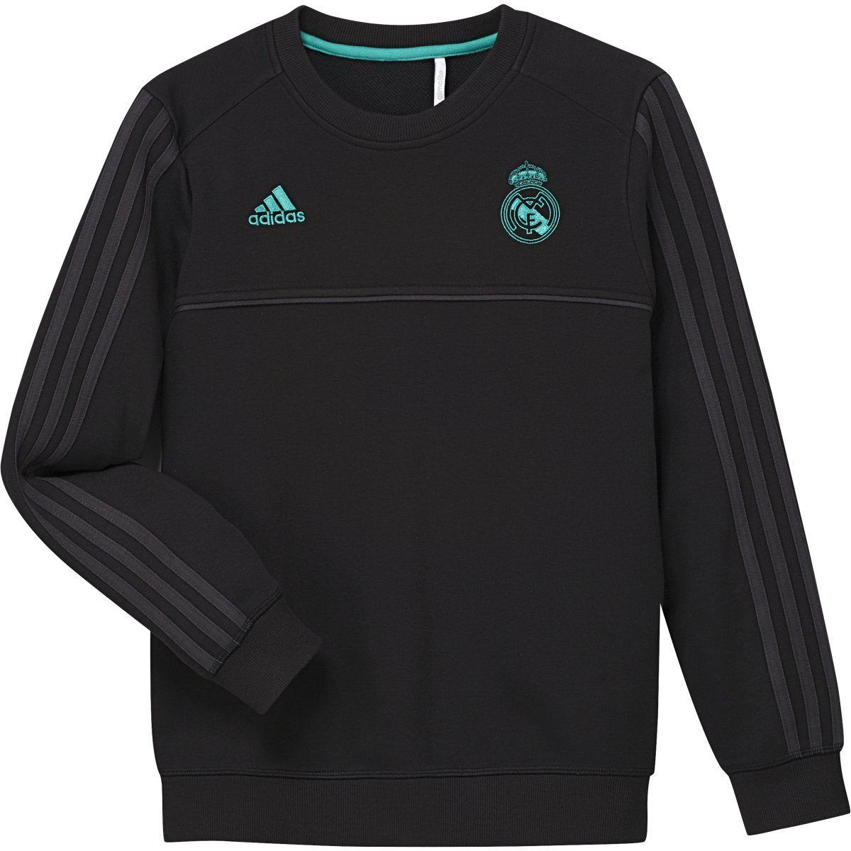 This sweatshirt forms part of the Real Madrid 2017 2018
