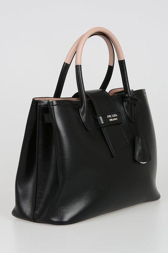 83866b13437a Leather Tote Bag #Pradahandbags | Prada handbags | Versace handbags ...