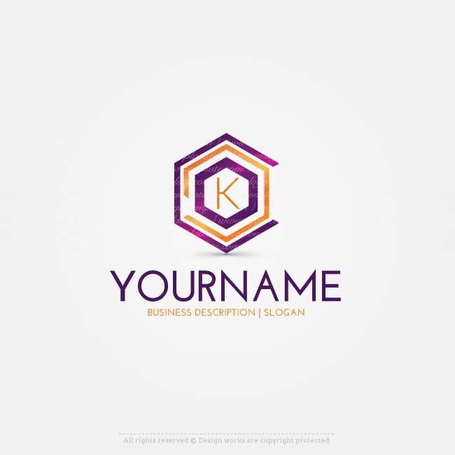 Free Logo Maker Online Letters logo design Letter logo