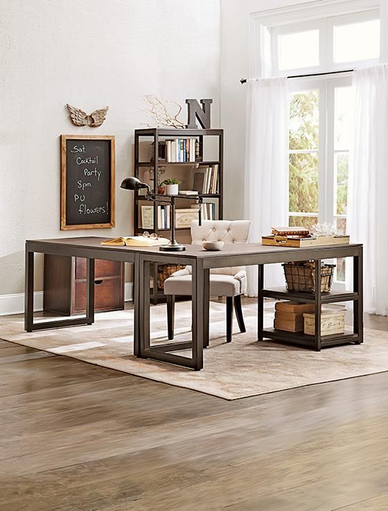 Kameron Desk 599 Return 379 With Images Home Home Office