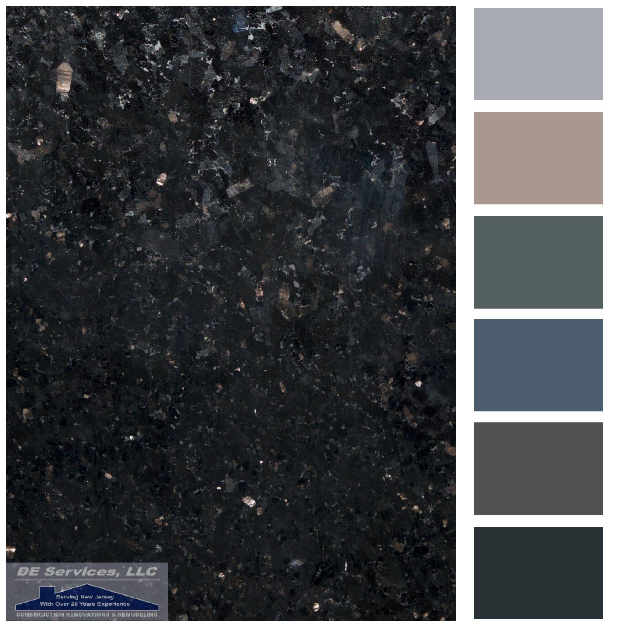Black Galaxy Granite Granite Countertops Colors Granite Paint Kitchen Soffit