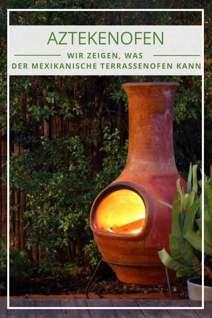 Aztekenofen Der Mexikanische Terrassenofen Outdoor Kaminofen