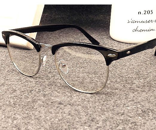 bfc9128c02 awesome Star with Half-frame Optical Women And Men Glasses Frames