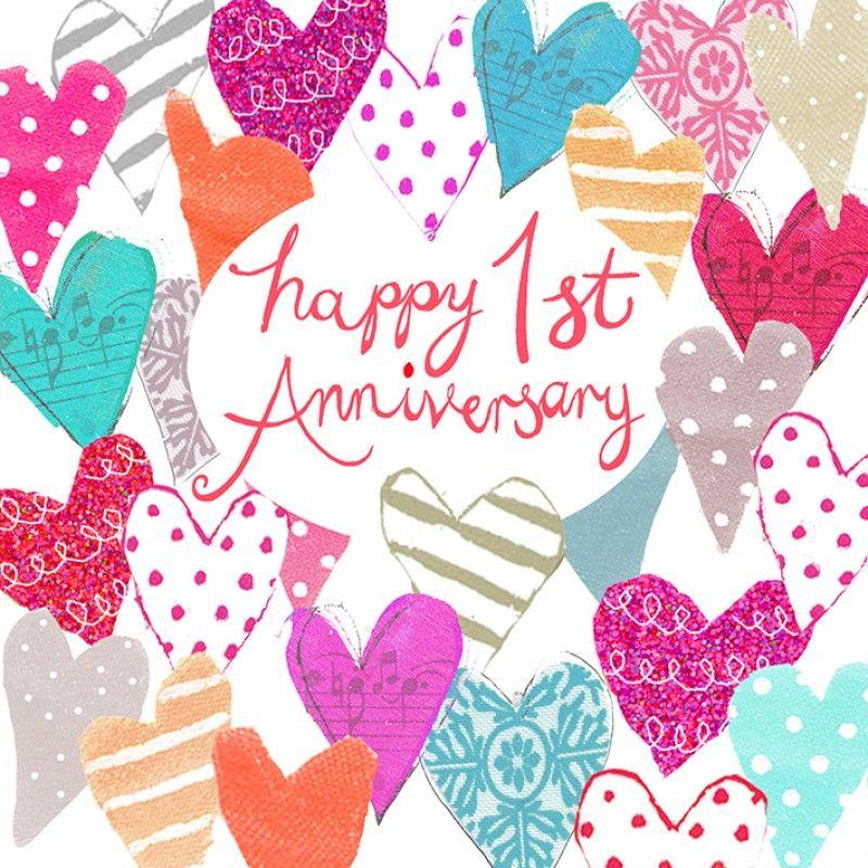 Happy Anniversary Google Search 1st Anniversary Cards Happy Anniversary Cards 1st Wedding Anniversary Wishes