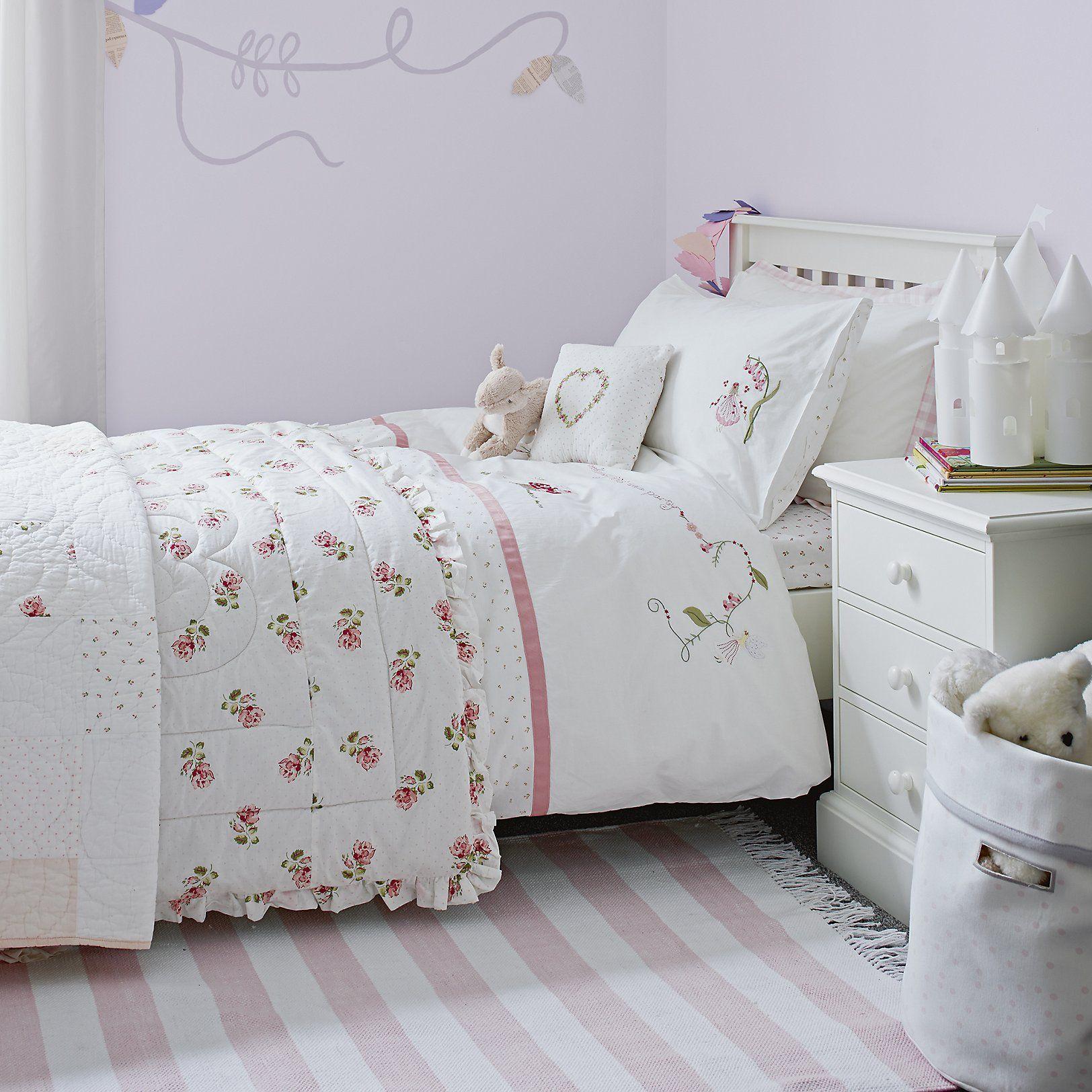 Kids Bedroom Linen woodland fairy bed linen | children's bed linen | childrens