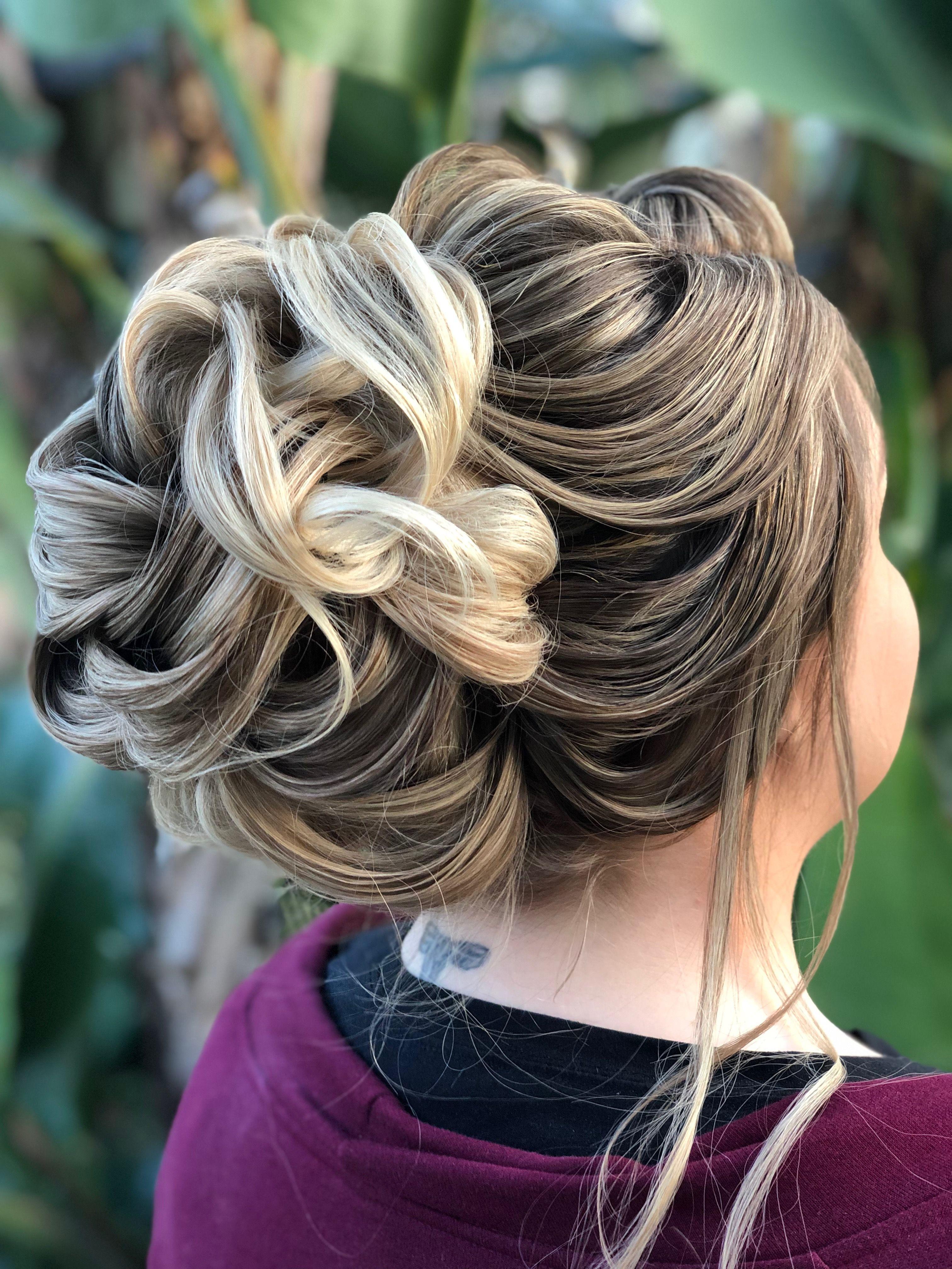 Bridal hairstyle by Las Vegas artist in 2020 Vegas hair