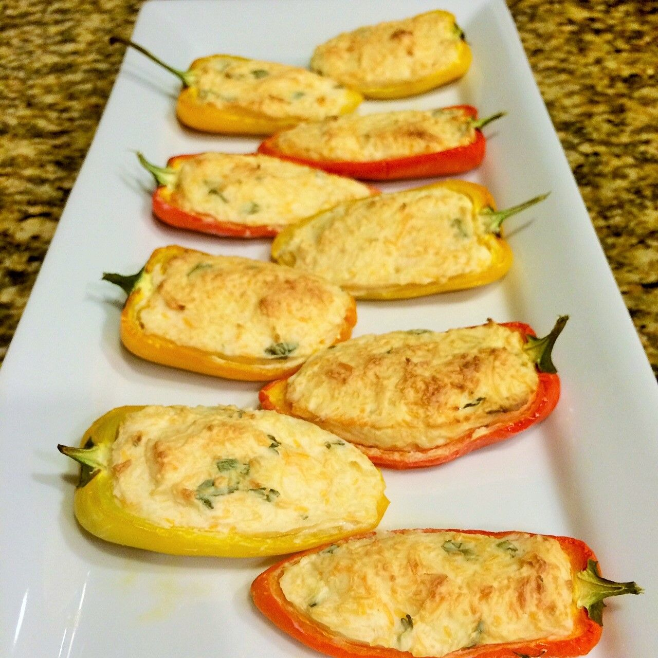 Fiesta Stuffed Mini Peppers