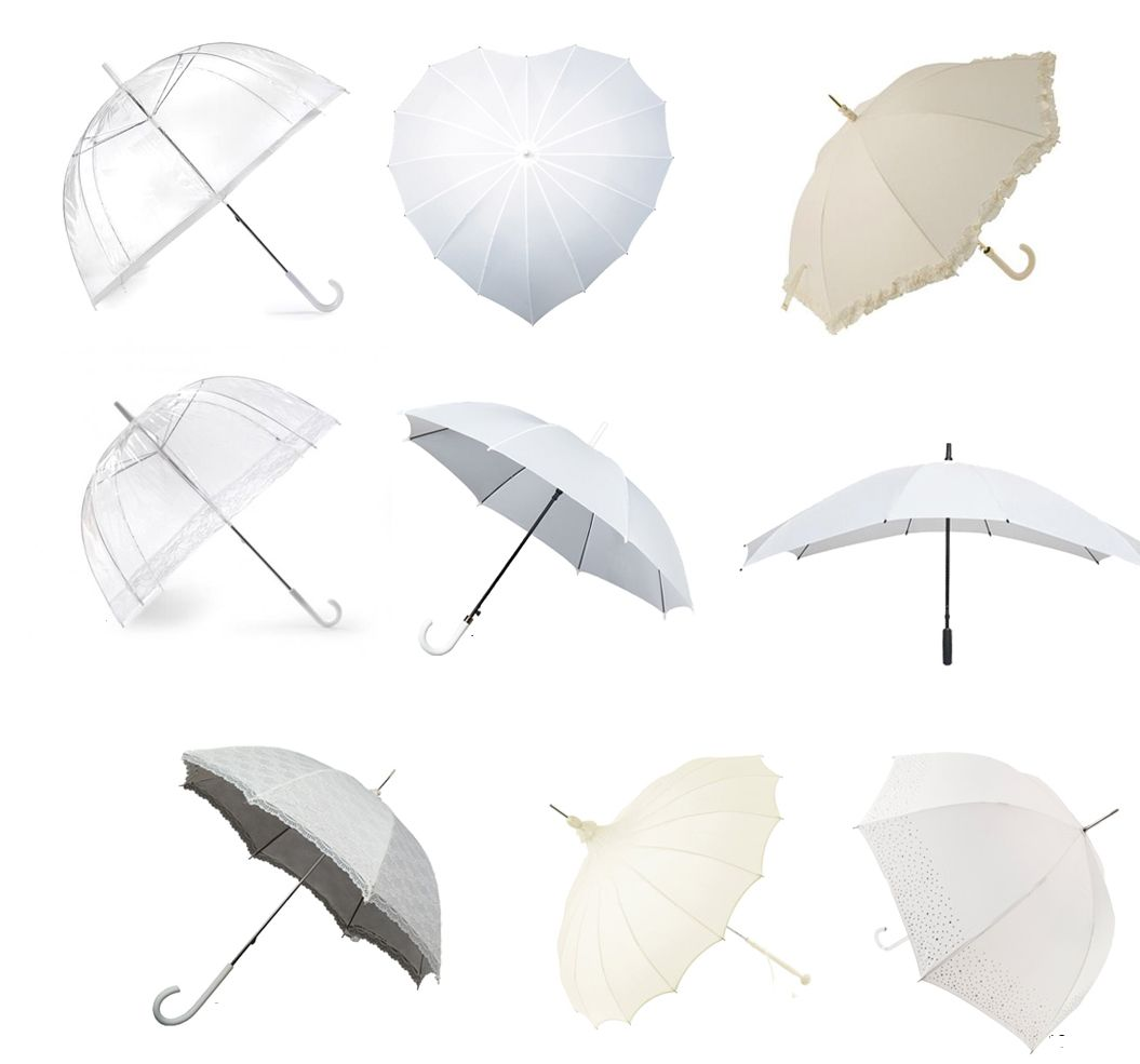 Bridal Brollies. Whether you're having a mid summer wedding or spring wedding, it's Ireland so there's always the chance it might rain! But don't worry not only will having a gorgeous bridal umbrella have you prepared, a stylish umbrella can also make a great addition to your wedding album photos. See our full range here: http://www.secretfashionfixes.ie/fashion-umbrellas-!19-cat.html